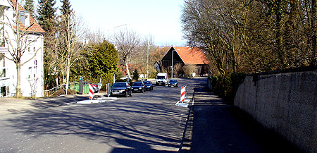 Fußgängerquerung Harteneckstraße